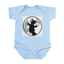Fool Moon Puppetry Arts logo Infant Bodysuit
