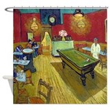 Van Gogh Night Cafe Shower Curtain