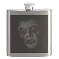 Haunted Demon Face Flask
