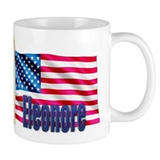 Eleonore Personalized USA Flag Mug