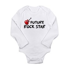 Unique Rock and roll birthday Long Sleeve Infant Bodysuit