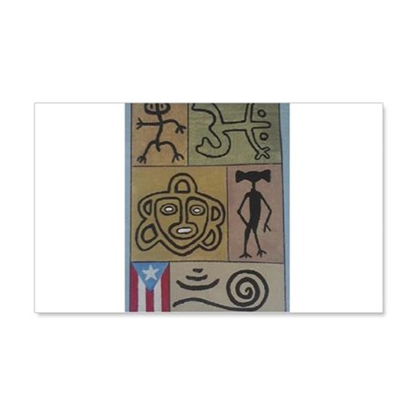 Taino Petroglyphs 20x12 Wall Decal