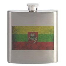Lithuania Flag Flask