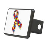 AutismAwareness.png Rectangular Hitch Cover