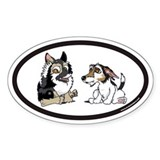 Terry's Dogs Oval Decal