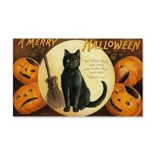 Vintage Merry Halloween Wall Decal