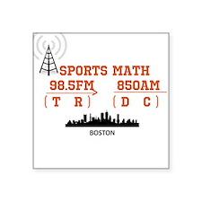 """SportsRadio Square Sticker 3"""" x 3"""""""
