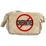 Anti / No Conservatives Messenger Bag