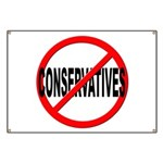 Anti / No Conservatives Banner