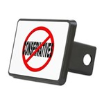 Anti / No Conservatives Rectangular Hitch Cover