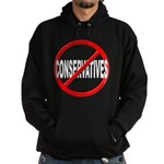 Anti / No Conservatives Hoodie (dark)
