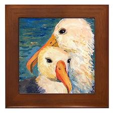 Sea Gulls Framed Tile