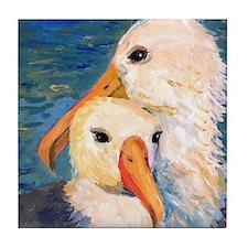 Sea Gulls Tile Coaster