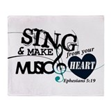 Music Fleece Blankets