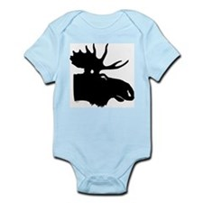 Black Moose Infant Creeper