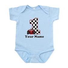 1st Birthday Race Infant Bodysuit
