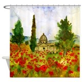 Tuscany Bathroom Shower Curtain