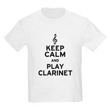 Keep Calm Clarinet T-Shirt