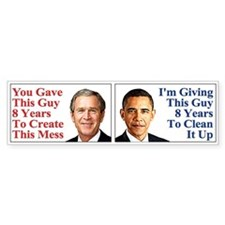 Give Obama 8 Years (10 Pack)