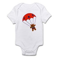 Teddy with Parachute Infant Bodysuit