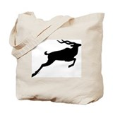 The Black Deer Tote Bag