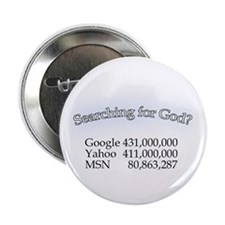 "Searching For God 2.25"" Button (10 pack)"
