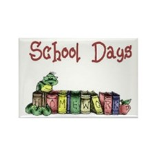 School Days T-Shirts Apparel Rectangle Magnet