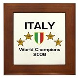 Italy World Champions - Scudo Framed Tile