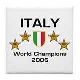 Italy World Champions - Scudo Tile Coaster