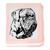 Dogue De Bordeaux. baby blanket