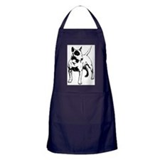 English Bull Terrier Apron (dark)