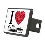 ilovecalifornia.png Rectangular Hitch Cover