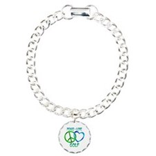 Peace Love Golf Bracelet