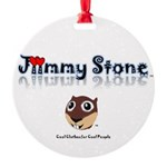Jiimmy Stone Round Ornament