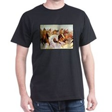 White Otter Led the Charge, detail, 1906.png T-Shirt