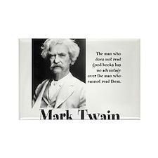 Mark Twain Rectangle Magnet
