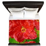 moms red flower.png King Duvet