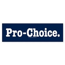 Pro-Choice Bumper Sticker (10 pack)