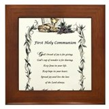 First Holy Communion Framed Tile