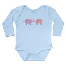 Love-e-Phants Long Sleeve Infant Bodysuit