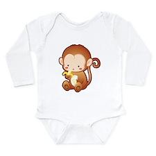 Fun Monkey Onesie Romper Suit