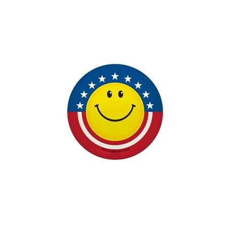 Smile for USA: Mini Button (10 pack)
