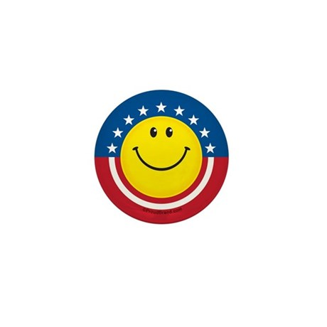 Smile for USA: Mini Button
