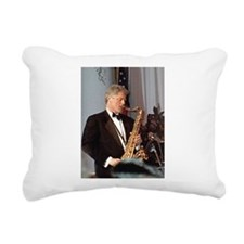 Bill Clinton Rectangular Canvas Pillow