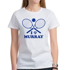 Love Murray Women's White T-Shirt