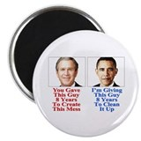 "Obama 2012 Button 2.25"" Magnet (10 pack)"
