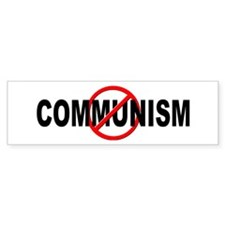 Anti / No Communism Bumper Sticker