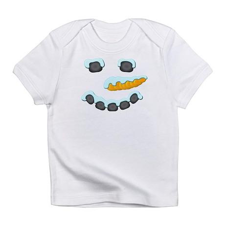 Snowman Face Infant T-Shirt