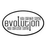 Evolution: You Darwin Some Decal