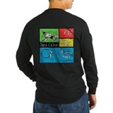 AQUA CULTURE RETRO LONG SLEEVE T